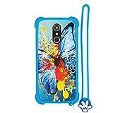 Custodia per ngm You Color Smart 5 Plus ngm You Color Smart 5 Custodia Bordo del Silicone + PC Card Stand Case Cover HD