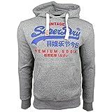 Superdry Herren Sweater Premium Goods Duo Street Works Grit, Größe:L