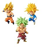DRAGON BALL Z World collectable figure BATTLE OF SAIYANS vol.2 set of 3 by Dragon Ball Z