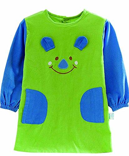 Künstler Schürze Kinder Schürzen Malerei Schürze Essen Sie Kleidung für (Kleinkind Künstler Kostüm)