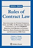 Rules of Contract Law Statutory Supplement by Charles L. Knapp (2015-07-27)