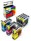 Koala Tintenpatronen/Druckerpatronen 10er Multipack Ersatz für Brother LC980 LC1100 kompatibel mit Brother DCP 163C 165C 167C 185C 195C 365CN 373CW 375CW 377CW(4*Schwarz, 2*Cyan, 2*Magenta, 2*Gelb)
