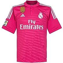 58734ca8885c2 adidas Real Madrid Away Camiseta de 2014 2015 Incluye Mundo Club Campeones  Parche
