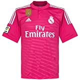 Camiseta alternativa del Real Madrid de 2014 2015, incluye parche de Campeón...