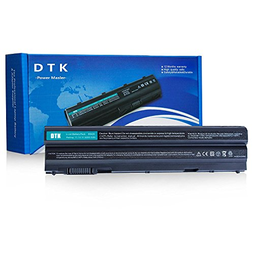 Dtk® Battería para ordenador portátil Dell Latitude E5420 E5430 E5520 E5530 E6420 E6430 E6520 E6530 Inspiron 4420 5420 5425 7420 4520 5520 5525 7520 4720 5720 7720 M421R M521R N4420 N4520 N4720 N5420 N5520 N5720 N7420 N7520 N7720 Vostro 3460 3560 Series Laptop Battery - Dell Part T54fj [ 6-cell 11.1v 4400mah ] Notebook Battery