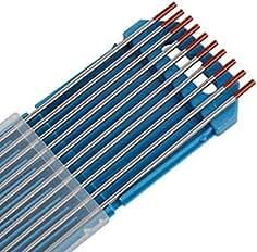 10X Aguja de Electrodo de Tungsteno WT-20 2.4Ø x 175 mm Soldadura TIG WT