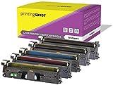 Printing Saver 5er Set Toner Kompatibel für HP Color Laserjet 2550, 2550n, 2550l, 2550ln, 2800, 2820, 2820aio, 2840, 2840aio, 2850, 2500, 2500l, 2500lse, 2500n, 1500, 1500L, 1500lxi, 1500n Drucker