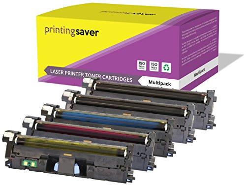 2550l Color Hp Jet Toner Laser (Printing Saver 5er Set Toner Kompatibel für HP Color Laserjet 2550, 2550n, 2550l, 2550ln, 2800, 2820, 2820aio, 2840, 2840aio, 2850, 2500, 2500l, 2500lse, 2500n, 1500, 1500L, 1500lxi, 1500n Drucker)