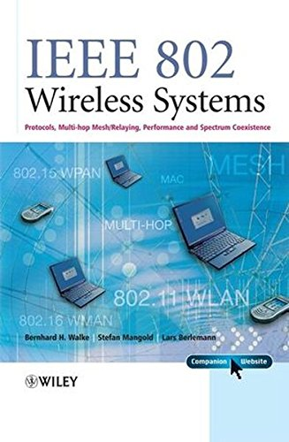 Ieee 802 Lan (IEEE 802 Wireless Systems: Protocols, Multi-Hop Mesh/Relaying, Performance and Spectrum Coexistence)