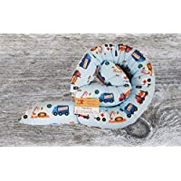 Bettschlange, Autos, Bagger, Flugzeuge, 150cm/200cm/250cm, Handmade, Baby Nestchen