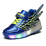 Unisex Schuhe mit Rollen Kinder Skateboard