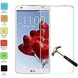 Owbb Film Protector de Pantalla Vidrio Cristal Templado Para LG Optimus G Pro 2 (5.9pulgada) Smartphone (Ultrafino 0.3mm Cristal de Alta Calidad 9H Dureza)
