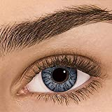 likeitwell 1 par Lentes de Contacto, Halloween cosméticos Lentes de Color Kawaii Ojos Grandes contactos Lentes para Ojos Maquillaje cosmético, Usado anualmente