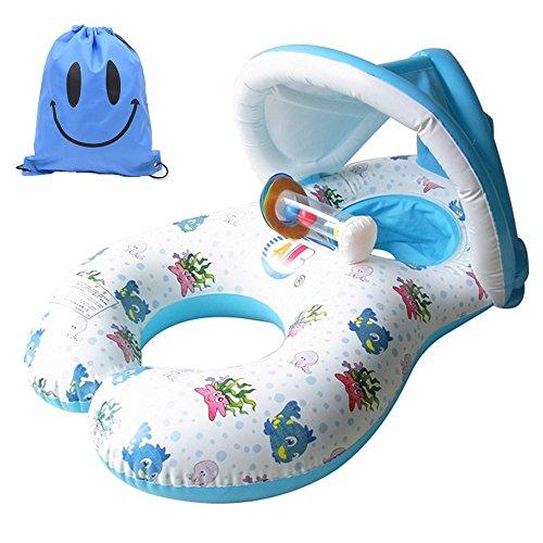 Inflable Anillo de Natación para Madre y Bebé con...