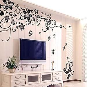 Wall sticker ddlbiz adesivi murales carta da pareti - Adesivi da parete camera da letto ...