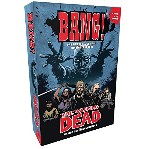 Asmodee HE820 Bang The Walking Dead, Spiel - Bang Spiel