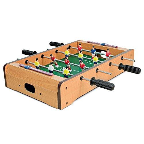 Generic Amily GA Player Familie Spielzeug XM Tisch Fußball, Familie GAM Deluxe Tisch Top E Fußball, Spiel Spielzeug Xmas Geschenk Le Top Mini Fußball
