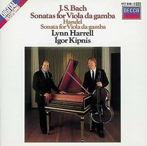 Bach, J.S./Haendel: Viola Da Gamba Sonatas