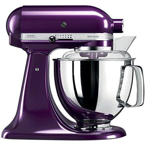 KitchenAid 5ksm175psepb, Artisan-Robot de cocina con equipamiento profesional, color morado
