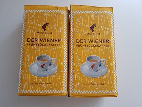 Julius Meinl - Der Wiener Frühstückskaffee gemahlen (5 er Pack)