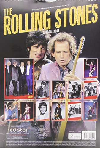 Rolling Stones Calendar 2015 (Red Star)