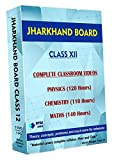 Jharkhand Board Class 12 - Combo Pack - Physics, Chemistry and Maths Full Syllabus Teaching Video (DVD)