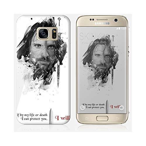 Sticker iPhone 5C de chez Skinkin - Design original : Shadow Aragorn par Julien Kaltnecker Coque Samsung Galaxy S7 Edge