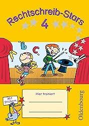 Rechtschreib-Stars: 4. Schuljahr - Übungsheft: Mit Lösungen