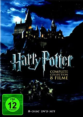 Harry Potter - Complete Collection [8 DVDs] (Collection 4 Dvd-set)