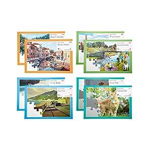 8er Puzzle Pack für Senioren mit Demenz & Alzheimer   mit verschiedenen Motiven   Beschäftigung & Aktivierung von Active Minds