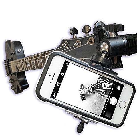 Support caméra pour guitare Ball Head Clip Mount