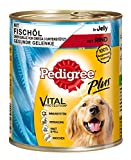 Pedigree Dose Adult Plus Fischöl mit Rind in Gelee, 800 g