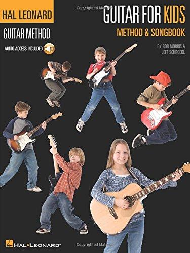 Hal Leonard Guitar Method: Guitar For Kids - Method/Songbook + Accès audio inclus