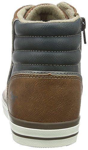 Mustang 4096-501-301, Sneakers Hautes Homme Marron (301 kastanie)