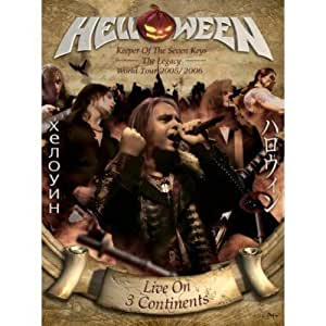 Helloween - Keeper of the Seven Keys: The Legacy World Tour (Limited Edition / 2DVDs + 2CDs)