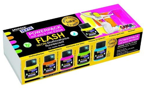 javana-91922-stoffmalfarben-flash-power-pack-limited-edition-5-x-60-ml