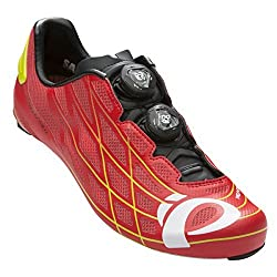 Pearl Izumi Pro Leader Iii Cycling Shoe True Red/Lime Punch 41 M EU