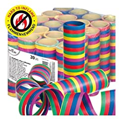 Idea Regalo - Susy Card 11138161stelle filanti, Strisce di carta, 20pezzi
