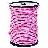 FTM Springseil Tau Seil, PP, Rosa Pink, Meterware von der Rolle, Ø 9mm (2 Meter)