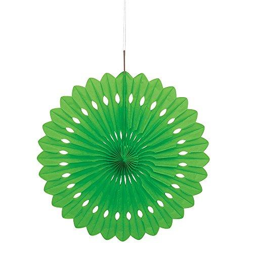 , rund, Dekoration, 40 cm, lindgrün, 40,6 cm (Luau Geburtstags-dekorationen)