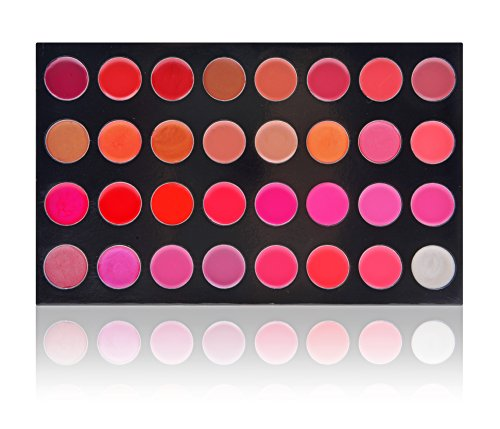 SHANY Masterpiece 32 Color Gloss/Sheer Lip Palette/Refill - THAT FIRST KISS by SHANY Cosmetics