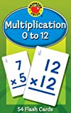 Multiplication 0 to 12 Flash Cards