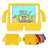 lioeo iPad mini Fall für Kinder freistehend mit Griff leicht EVA Schaumstoff Schutzhülle für Apple iPad Mini 432120,1cm, Silikon, gelb, iPad Mini 1 2 3 4