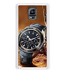 PrintVisa Beautiful Watch High Gloss Designer Back Case Cover for Samsung Galaxy Note 4 :: Samsung Galaxy Note 4 N910G :: Samsung Galaxy Note 4 N910F N910K/N910L/N910S N910C N910FD N910FQ N910H N910G N910U N910W8