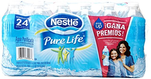nestle-pure-life-purified-water-169-ounce-deposit-plastic-bottles-pack-of-24-by-nestea