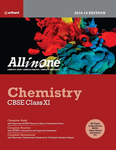 CBSE All in One Chemistry CBSE Class 11 for 2018 - 19 (Old edition)