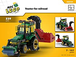 Tractor Train Snowblower (Instruction Only): MOC LEGO