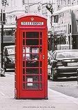 Libretas Londres: Libreta Dina 5, Libreta Rayada, Libreta Rayada A5, Blogs y Cuadernos de Notas - Libreta Londres #2 - Tamaño: A5 (14.8 x 21 cm) - 110 ... pequeña,libretas bonitas,notizbuch,libreta)