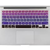 all-inside MacBook Air/Pro/Retina de 13', 15' y 17'teclado de silicona Ombre color