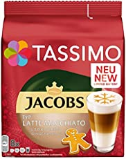 Tassimo Jacobs Typ Latte Macchiato Lebkuchen, 5er Pack Kaffeespezialität T Discs (5 x 8 Getränke)